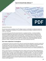 Comment Mieux Évaluer Le Travail Des Élèves-Le journal du CNRS