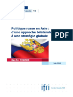 Politique russe en Asie