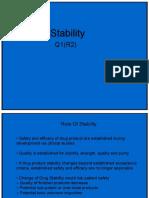 Presentation Stability