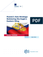 Russia's Asia Strategy
