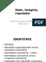 Imagine, Reputatie, Identitate