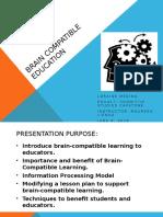 edu417- final brain compatible education
