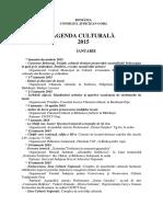 Agenda Culturala Gorj