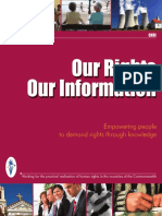 Our Rights Our Information