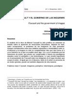 Foucault y El Gobierno de Las Imagenes Mauricio Amar
