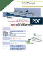 MSC Armonia Caraibe Zbor Inclus