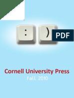 Cornell University Press Fall 2010 Catalog