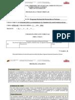 Programa y Plan de Evaluación - Iutnms