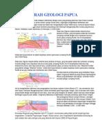 Sejarah Geologi Papua