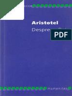 Aristotel - Despre Suflet (Humanitas)