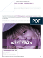 Combatiendo La Infelicidad - Un Pedacito de Psicología