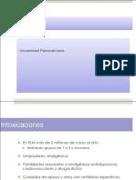 URENCIAS Intoxicaciones Dr. Remolina 2014