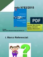 Decreto N°83 ppt Kiara.pptx