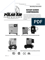 Operating Instructions Manual Of Rotary Screw Compressors