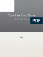 Two-Part Song Form