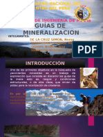 GUIAS DE MINERALIZACION