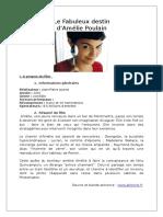 Fiche Amelie Poulain 0
