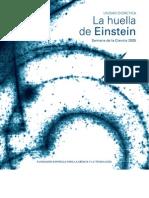 La huella de Einstein
