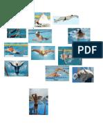 dibujos natacion