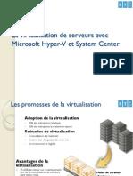 Virtualiser Ses Serveurs Avec Microsoft