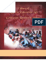 5 Years of Right to education Act and grassroot reality of Bihar
