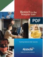 Biotech in Bluegrass Brochure_Ky EcoDev