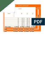 Plantilla Excel - Fiesta