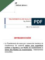 Coeficientes de Transferencia de Masa