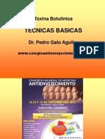 Tecnicas de La Toxina Botulinica