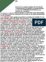 Reglamento futbol