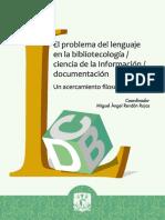 Problema Lenguaje Bibliotecologia