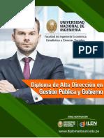 Diploma de Alta Direccion en Gestion Publica y Gobierno 1