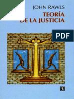 Rawls - Teoría de La Justicia