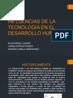 Influencias de La Tecnologia en El Desarrollo Humano