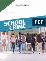 TBI School Crime 2013-2015 Secured