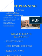 Estate Planning Class Presentation