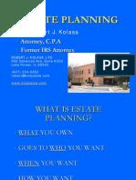 Estate Planning Class Presentation