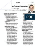 Drafting Trusts for Asset Protection