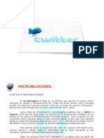 Explicación Twitter