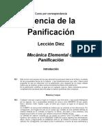 Leccion 10 (Mecánica Elemental de Panificación)