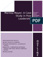 Marissa Mayer Poor Leader OB Group 2-2