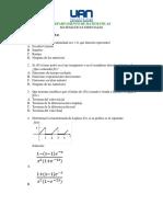 Evaluación Final Matematicas Especiales