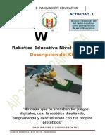 Wedo Listado- RoboTic@