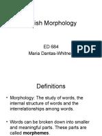 ed684english morphology f09  2