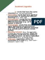 grammar - word classifications  1