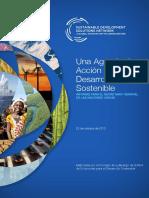 Una Agenda de Acción Para El Desarrollo Sostenible