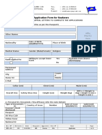 OPR 001 - Application & Service Records - For Seafarers