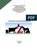 Livro Zootecnia Com Sustentabilidade _ Formato E-Book