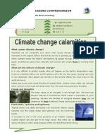 Climate Change Calamities