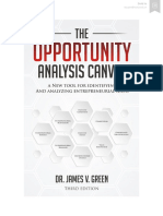 The Opportunity Analysis Canvas - Third Edition
